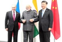 President Putin, PM Narendra Modi and President Xi Jinping