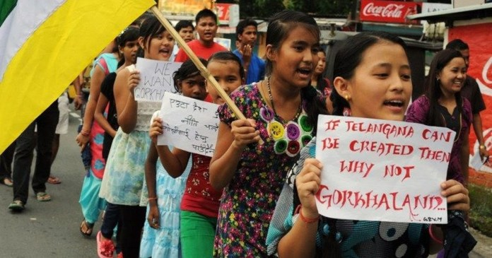 Demand for Gorkhaland