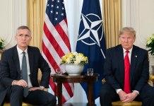 President Donald J. Trump and NATO Secretary General Jens Stoltenberg