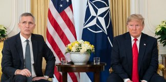 President Donald J. Trump and NATO Secretary General Jens Stoltenberg