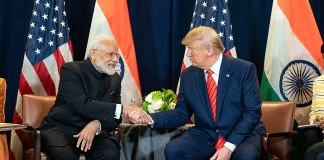 President Donald J. Trump and India's Prime Minister Narendra Modi