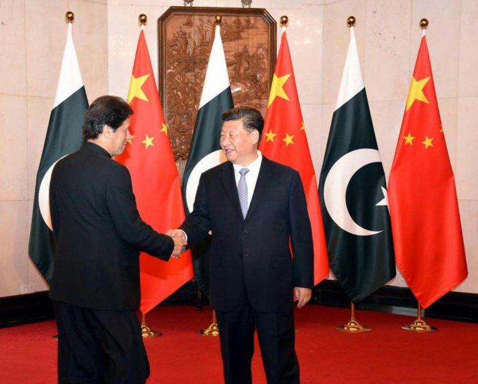 PM Imran Khan and President Xi Jinping