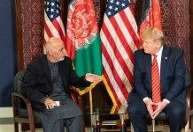 President Ashraf Ghani & Donald Trump