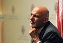 President of Afghanistan Ashraf Ghani