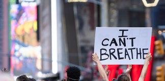 Black Lives Matter Protest Times Square New York City