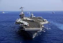 Nimitz-class aircraft carrier USS John C. Stennis