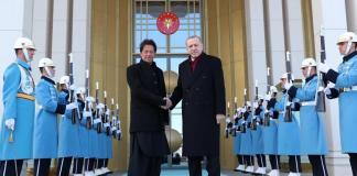 PM Imran Khan and President Erdogan