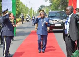 President Évariste Ndayishimiye