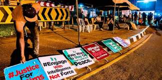 Protest against the Special Anti-Robbery Squad (SARS)