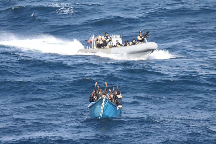 US Marines board, search and seize Somalia pirates