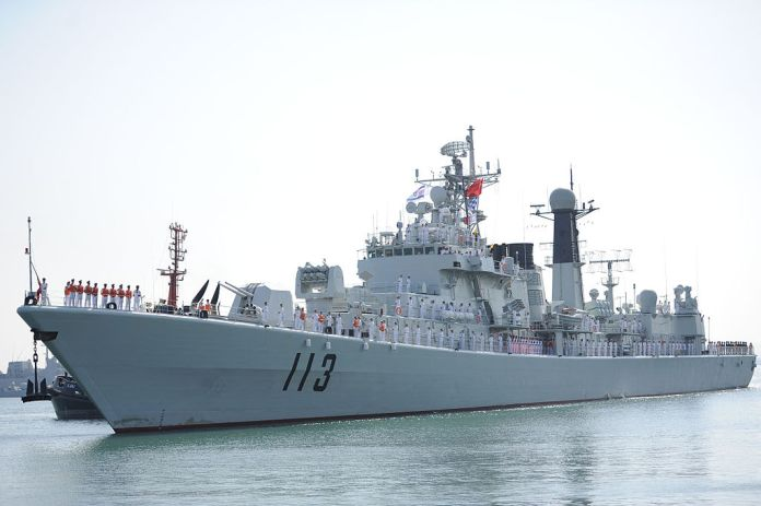 Chinese Navy vessel