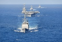 The Harry S. Truman Carrier Strike Group.