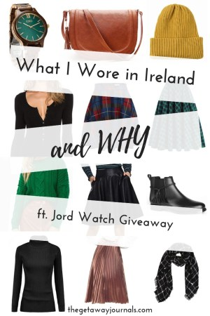 What I wore in Ireland