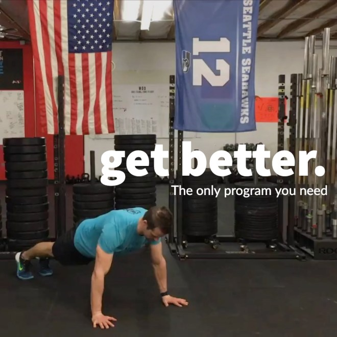 Monthly Unlimited (free week) push up by Joe Bauer