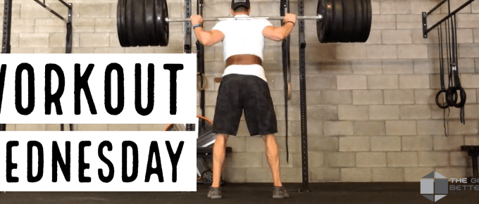 The Workout Wednesday with Joe Bauer squatting in Squat-nado