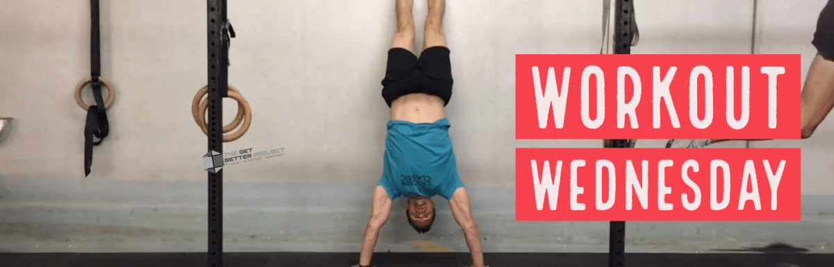 Workout Wednesday – The Upside-down Chetah