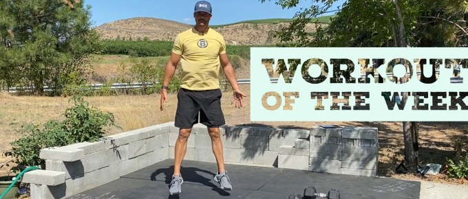 Workout of the Week - Lactic Explosion by Joe Bauer at the Get Better Project
