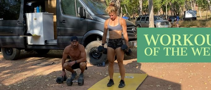Workout of the Week - The Devils Come to Town by Joe Bauer of the Get Better Project doing the workout with Emily Kramer