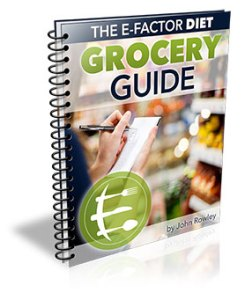 The E-Factor Diet Grocery Guide