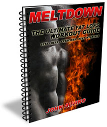 how to get ripped abs meltdown training manual