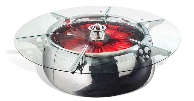 Jet Motoru Masa Tasarımı