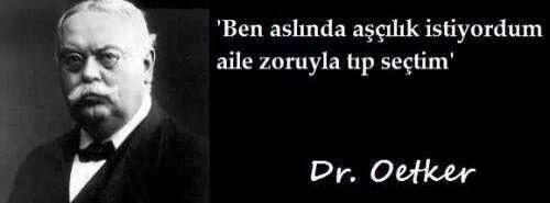 DR OETKER gerçek mesleği