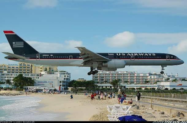 Princess Juliana Uluslararası Havalimanı, Saint Martin