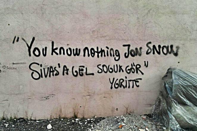 You know nothing Jon Snow-1