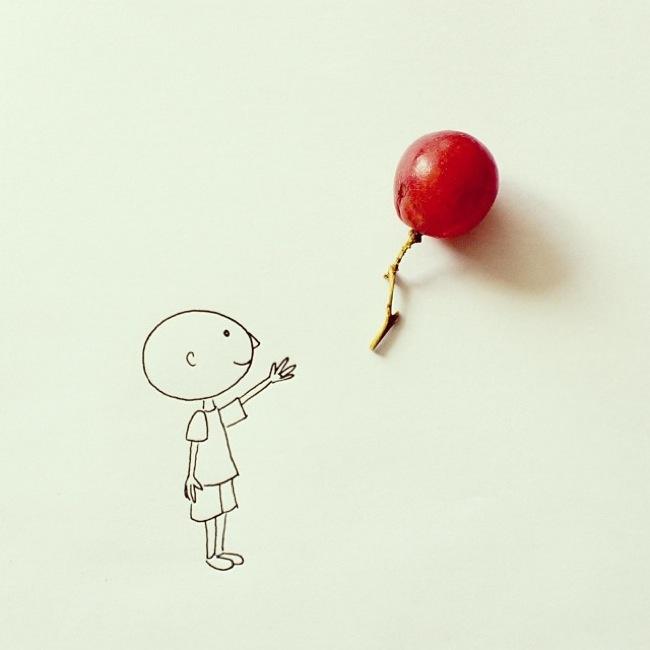 balon çocuk