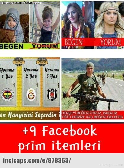 facebook itemleri