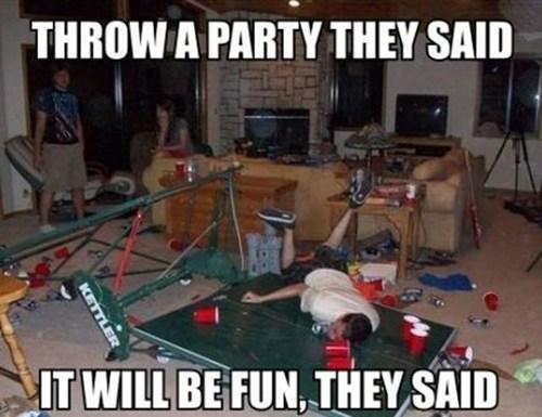 Yılbaşı geyikleri party