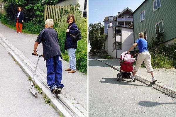 bisiklet asansörü trondheim-norveç3
