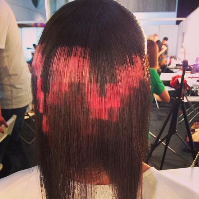 piksel saç