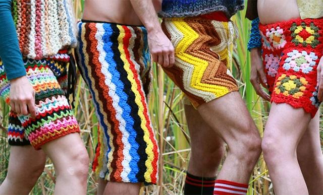 erkeklere örgü pantolon - iç çamaşırı3