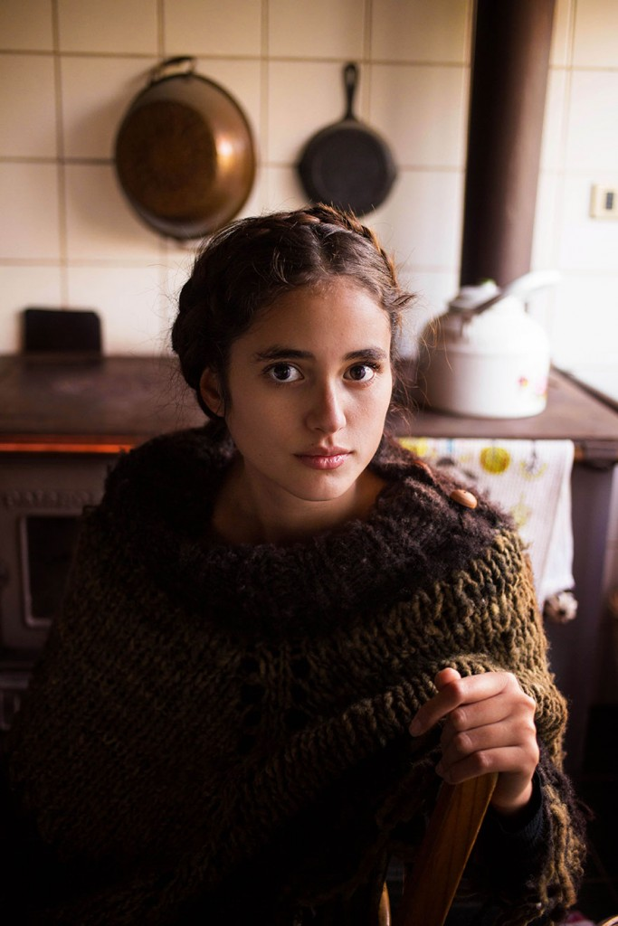 Şili güzel kız