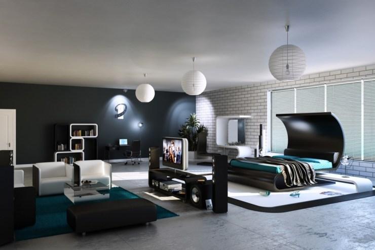 Büyük yatak odası