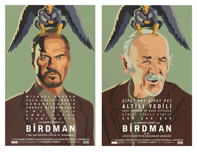 Birdman Türk Afiş