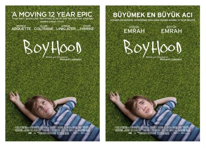 Boyhood Türkçe Afiş