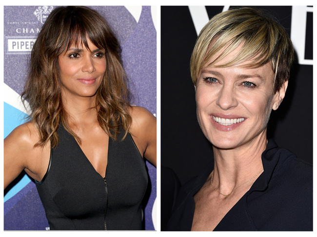 Halle Berry and Robin Wright