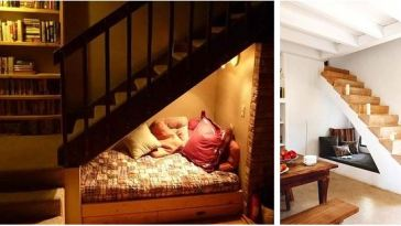 merdiven altı oda