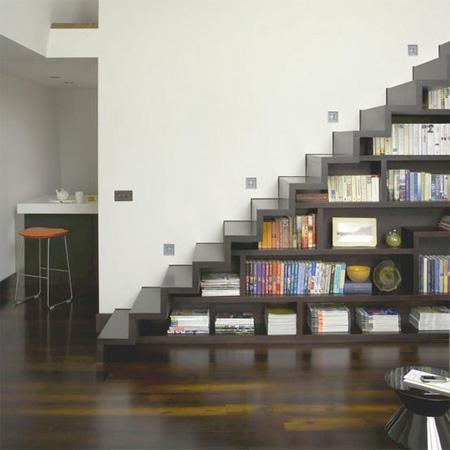 merdiven kütüphane