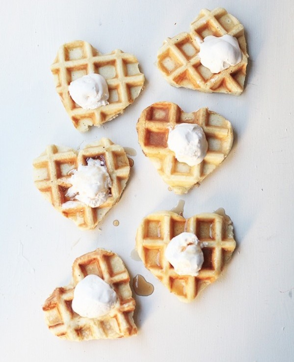 sevgililer günü kendin yap - waffle