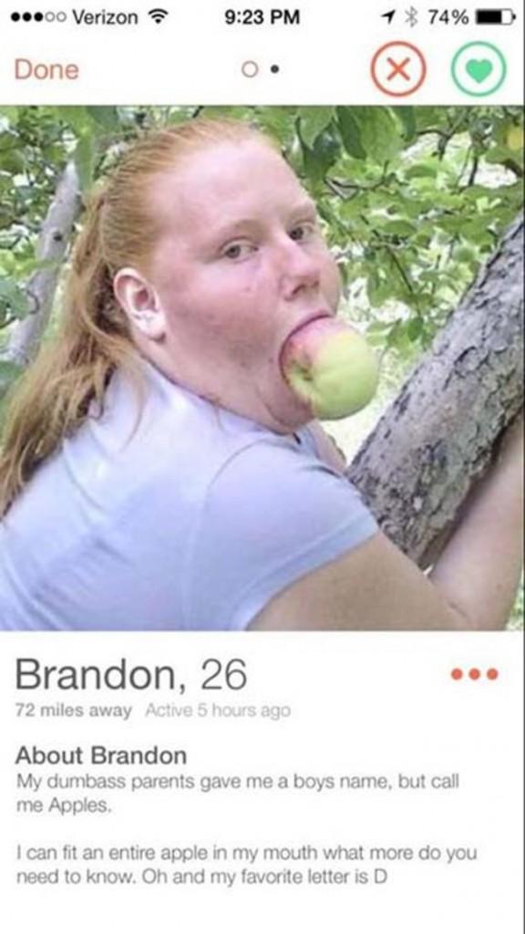 İlginç Tinder Profil fotoğrafları -5