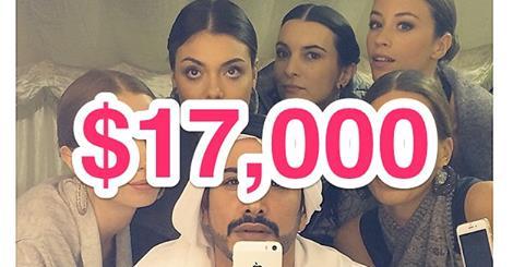 17.000 dolar
