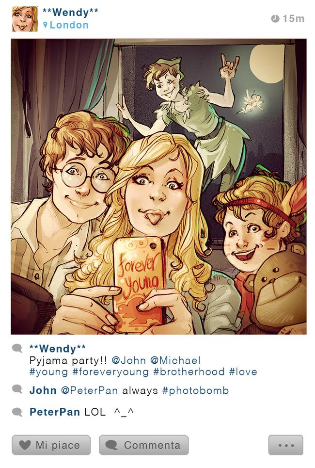 Disney Karakterlerinin Instagram Hesabı Olsaydı- 6