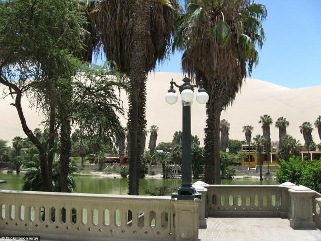 Huacachina Çöl Kent - 4