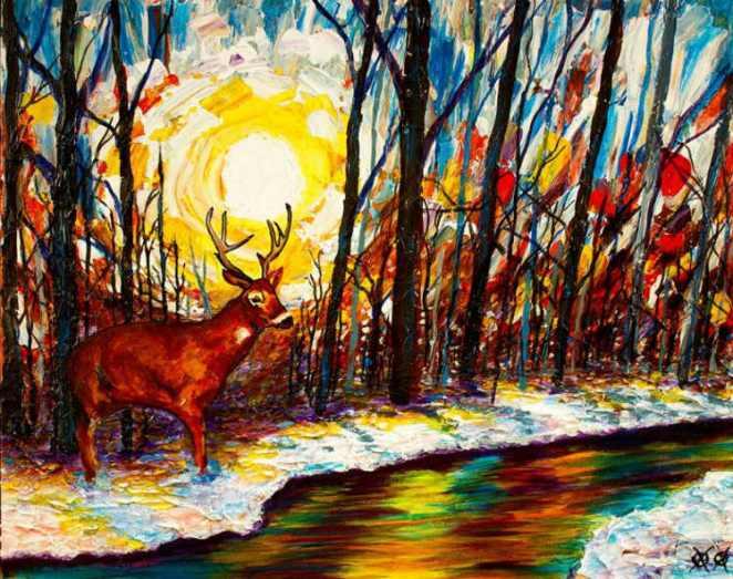 John Bramblitt paintings