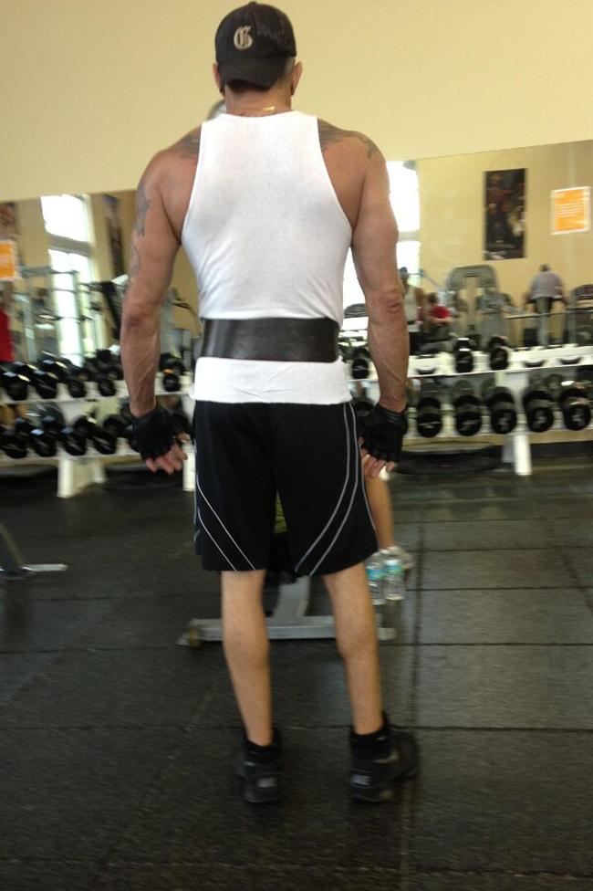 body'de bacak çalıştırmamak -2