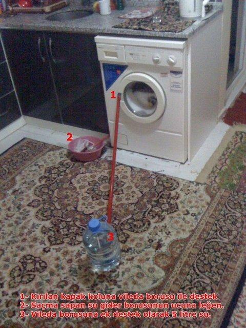 bozulan çamaşır makinesi