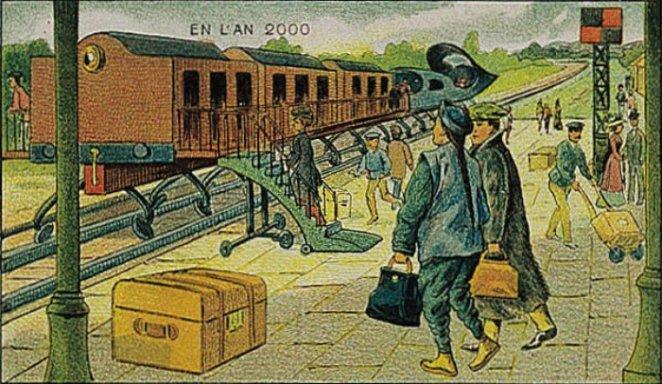 gelecekte tren
